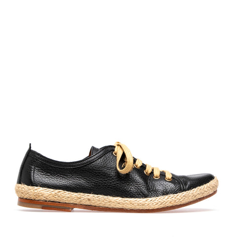 Raphaelle L Espadrille | Black - ndc-made-by-hand