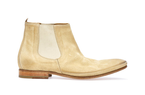 SACCHETTO L CHELSEA BOOT | Ecru - ndc-made-by-hand