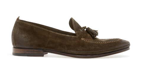 Sacchetto L Tassle Softy Loafer | Oliva