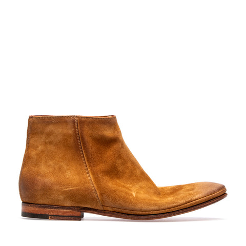 Sacchetto Zip Boot Softy  | Cognac