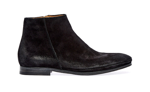 Sacchetto zip boot | Nero - ndc-made-by-hand