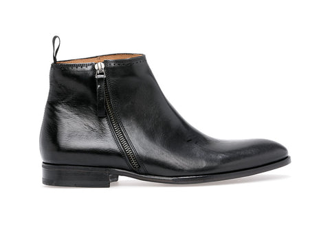 SOMEONE ZIP BOOT | Nero - ndc-made-by-hand
