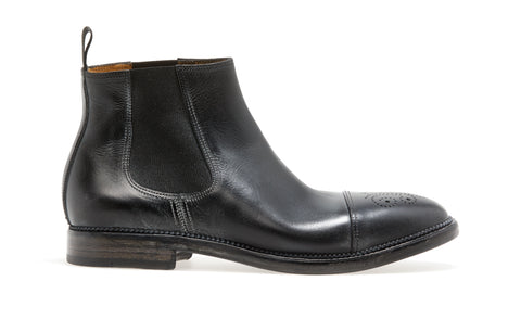 STANLEY CHELSEA BOOT | Nero - ndc-made-by-hand