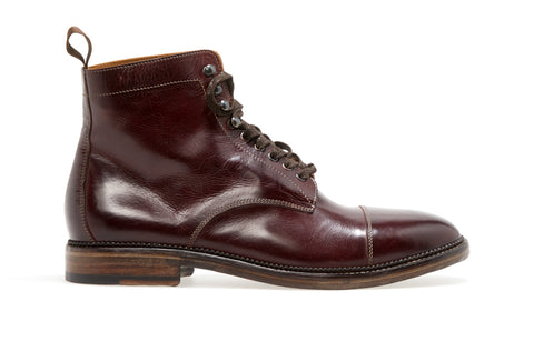 Stanley Lace-Up Berbero Boot | Oxblood