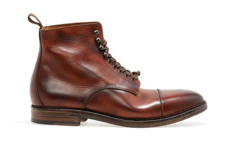 Stanley Lace Up Boot  | Brown - ndc-made-by-hand