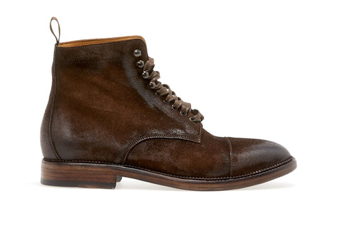 STANLEY LACE-UP BOOT  | Ebano