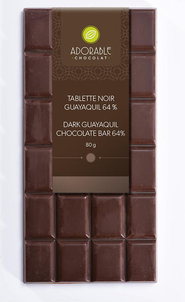Adorable Dark Chocolate Bar