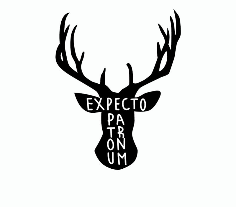 Harry Potter Expecto Patronum Spell Wall Decal