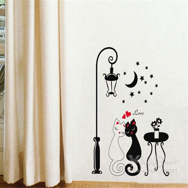 DIY 3D Cats In Love Wall Decor