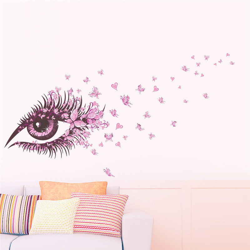 Enchanted Fairy Eye Wall Decal