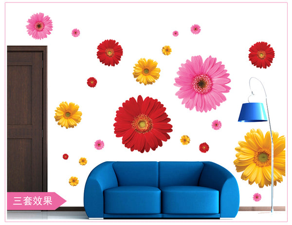 Beautiful Floral Decals