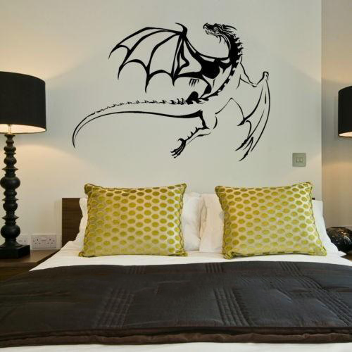 Awesome Flying Dragon Wall Decal
