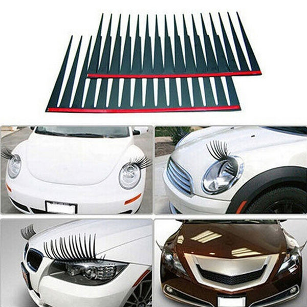 3D Charming Fake Eye Lash Car Decal