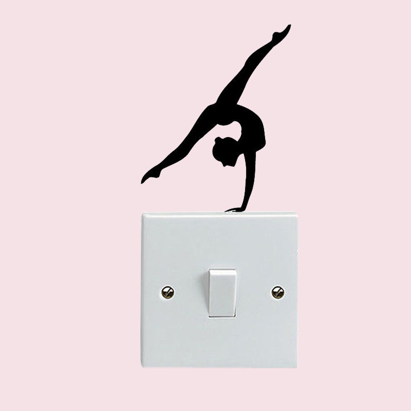 Gymnast  Switch Decal