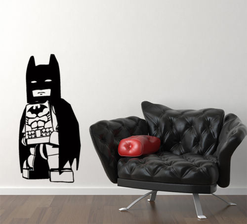 Lego Batman Superhero Wall Decal