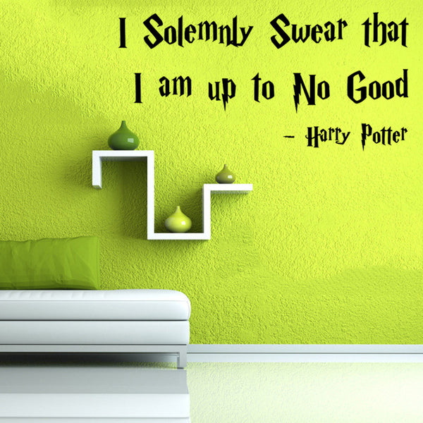 Harry Potter Famous Quote Wall Decor