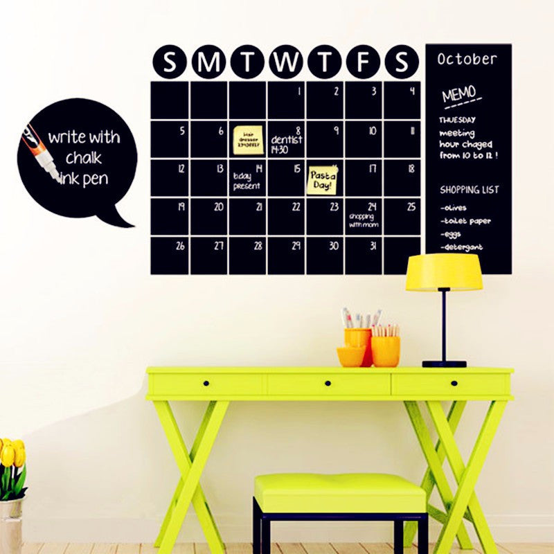 Awesome Wall Decor Chalkboard Embellishment - Wall Art Design ...