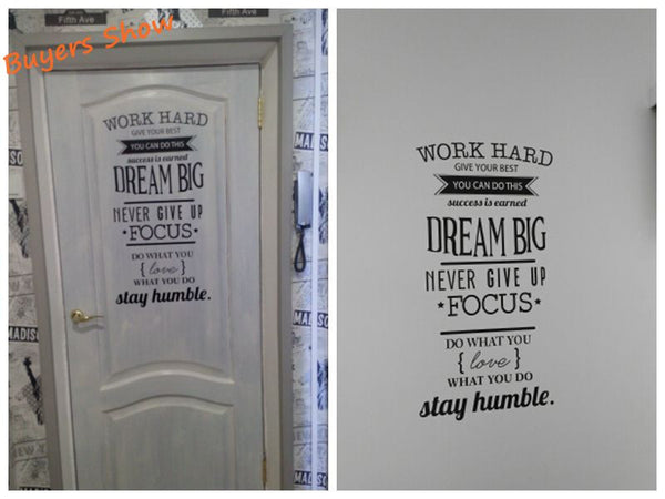 Dream Big Inspirational Message