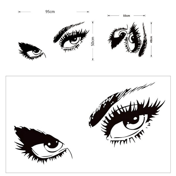 Sexy Eyes Wall Art