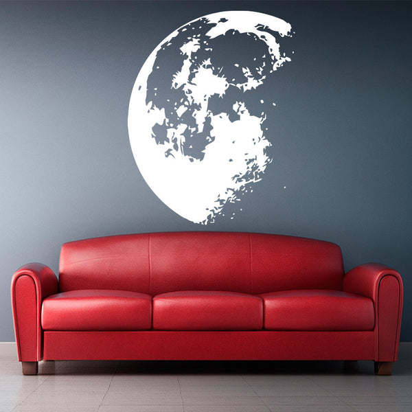 Cool Moon Wall Decal