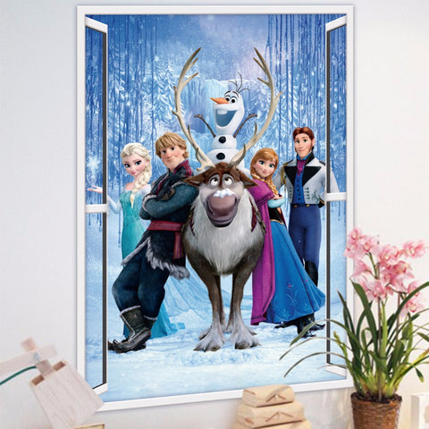 Amazing Frozen Group Wall Decor