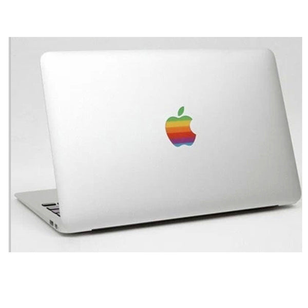 Rainbow Logo for MacBook Protector Decal