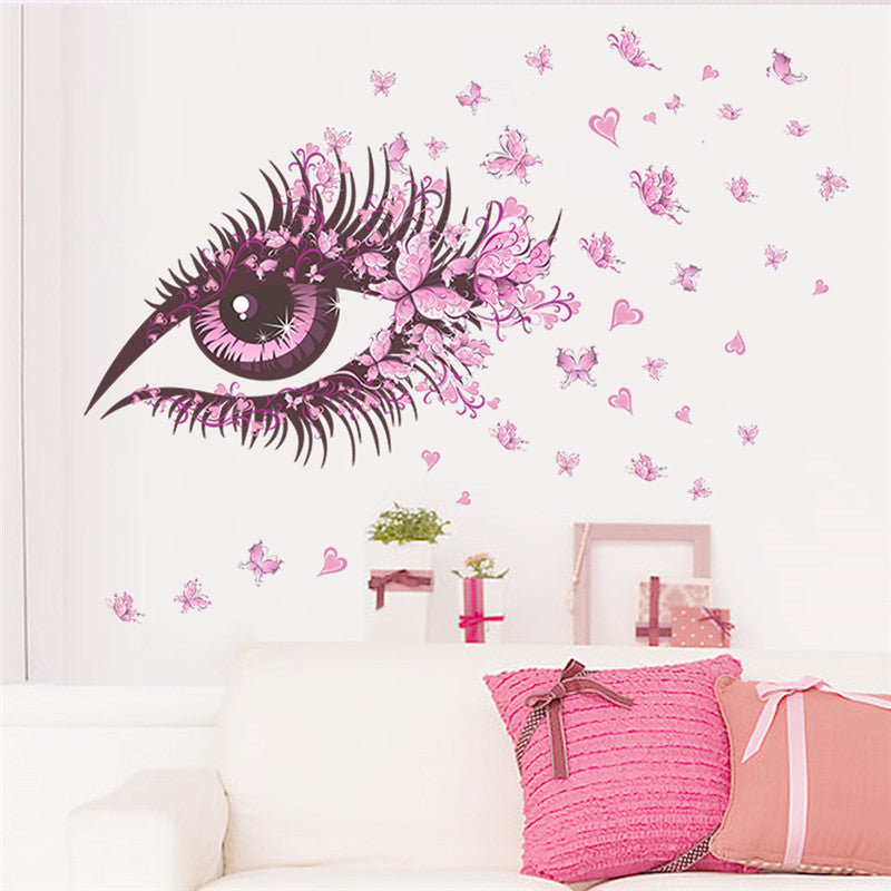 Romantic Floral Fairy Wall Murals The Decal House