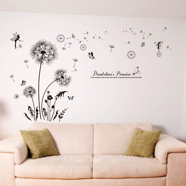 Dandelion Fairies Wall Decal