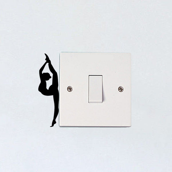 Lovely Ballerina Switch Decal