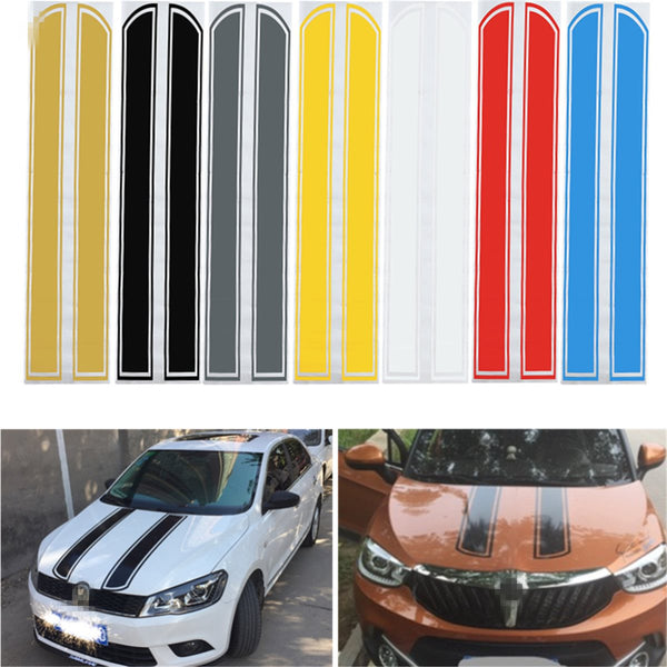 Universal Car Reflective Hood  Decals