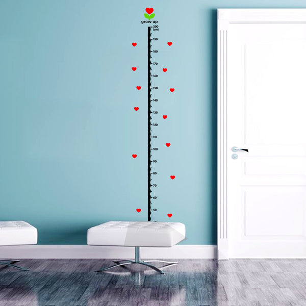 Fun Growth Chart Decals
