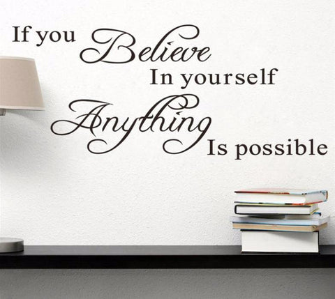 """Believe In Yourself"" Wall Decor"