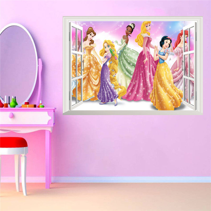 ... Princess Window Wall Decal   Special Edition