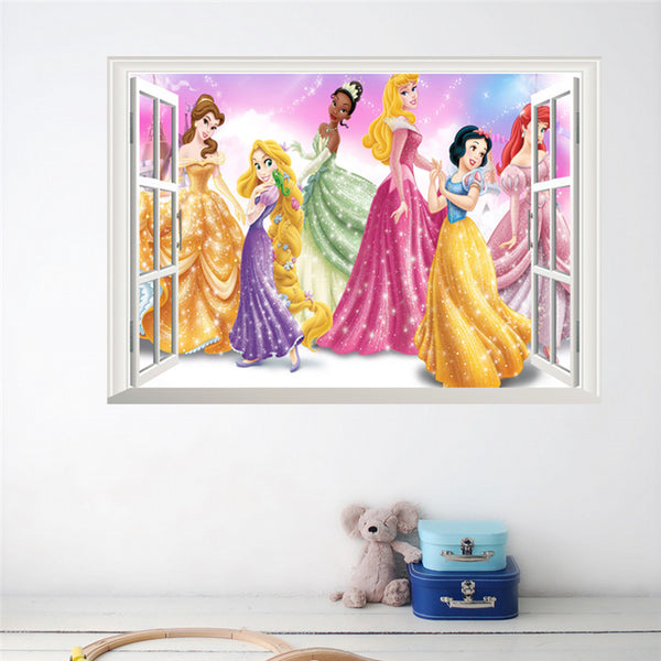 Princess Window Wall Decal - Special Edition