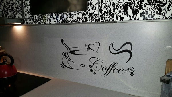 Coffee Love Wall Decal