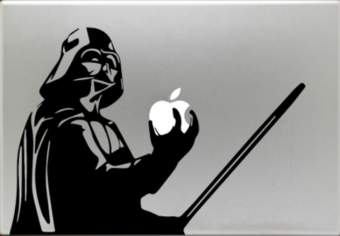 Cool Dark Side MACBOOK Decal - EXTREMELY LIMITED!