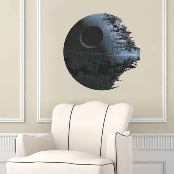 STAR WARS 3D DEATH STAR WALL DECAL – LIMITED EDITION