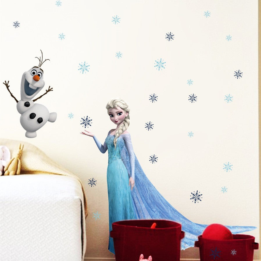 ... Frozen Wall Decals U2013 Elsa U0026 ...