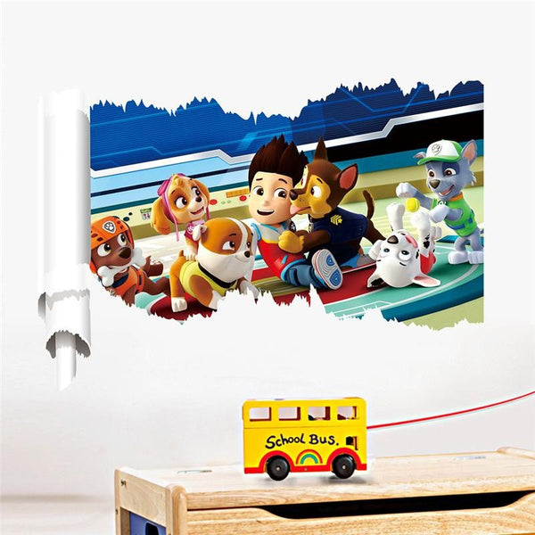 PAW PATROL WALL DECALS