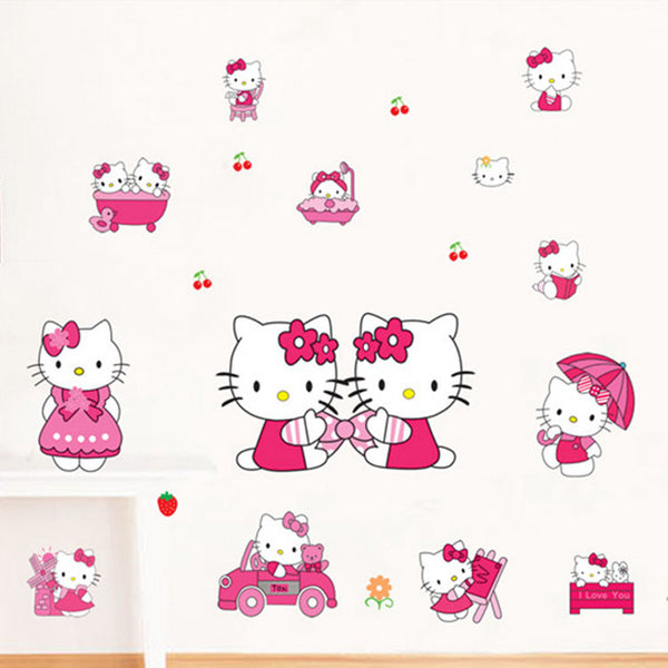 Hello Kitty Wall Decals – Limited Edition