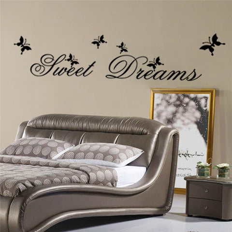 Sweet Dreams Quote Decal