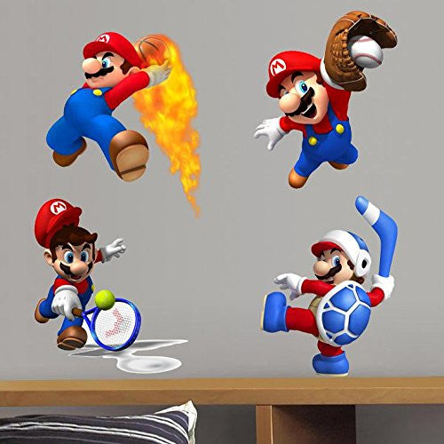 Super Mario Bros Wall Decal – Limited Edition C