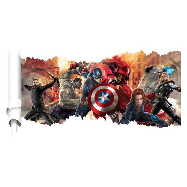 3D Avengers Wall Decal – EXTREMELY LIMITED