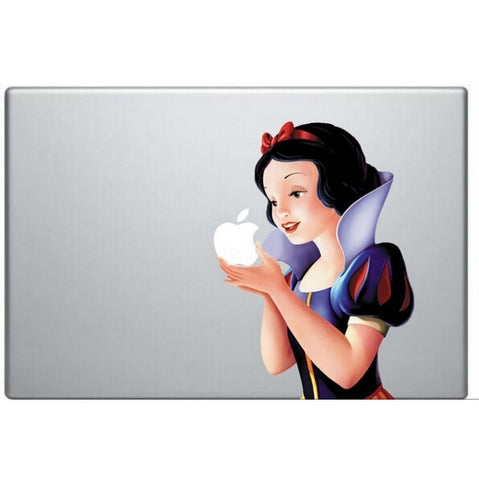 Lovely Snow White MacBook Decal