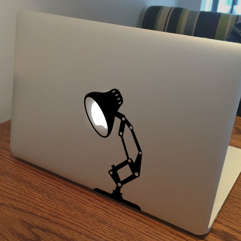 New Lamp MacBook Decal