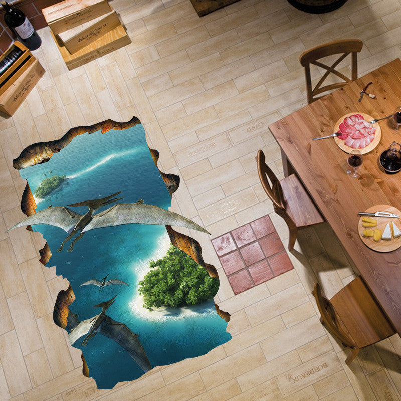3D Pterosaur Floor Decor