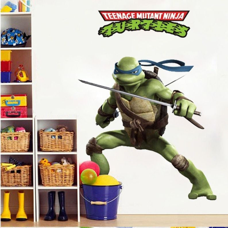 Ninja Turtle Leonardo Wall Decal – Limited Edition