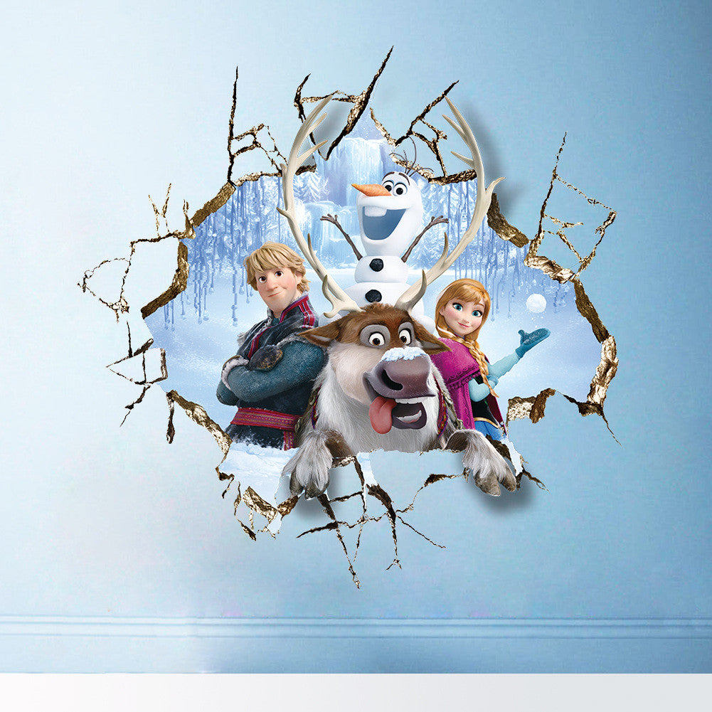 Frozen Wall Decals – Group Through Wall