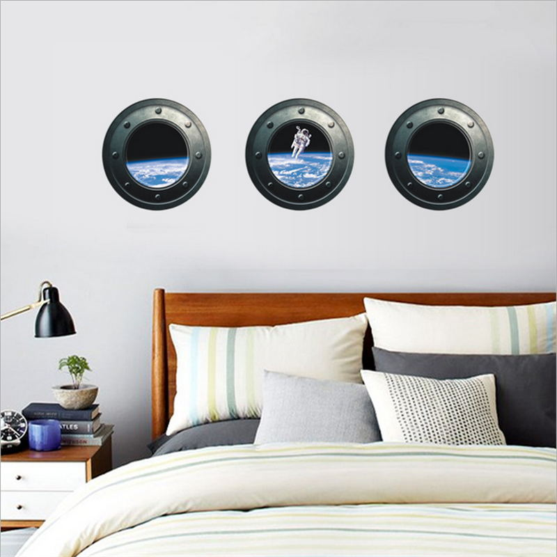 Portal Outer Space Wall Decal