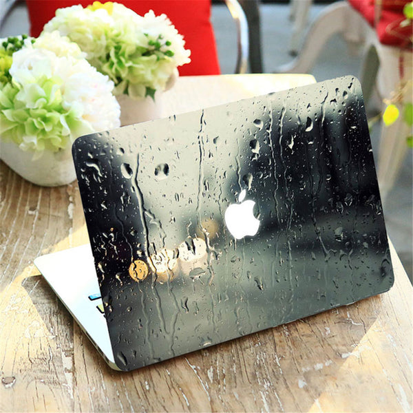 Beautiful Raining Scene MacBook Cover